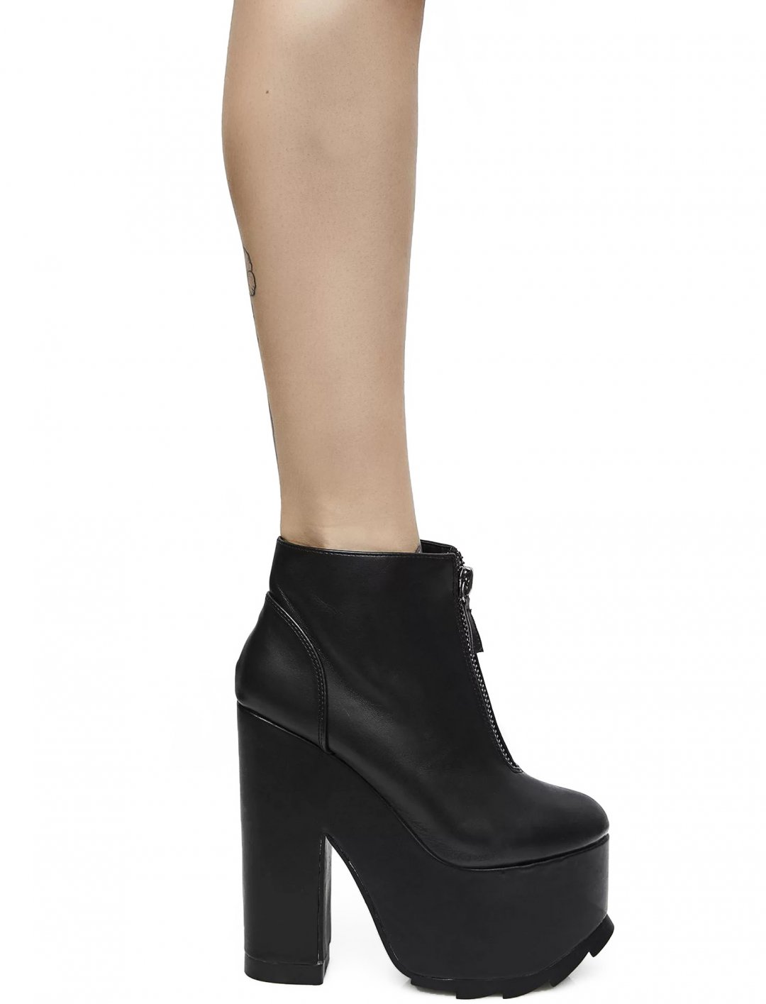 """Extreme Platform Ankle Boots {""""id"""":12,""""product_section_id"""":1,""""name"""":""""Shoes"""",""""order"""":12} Y.R.U"""