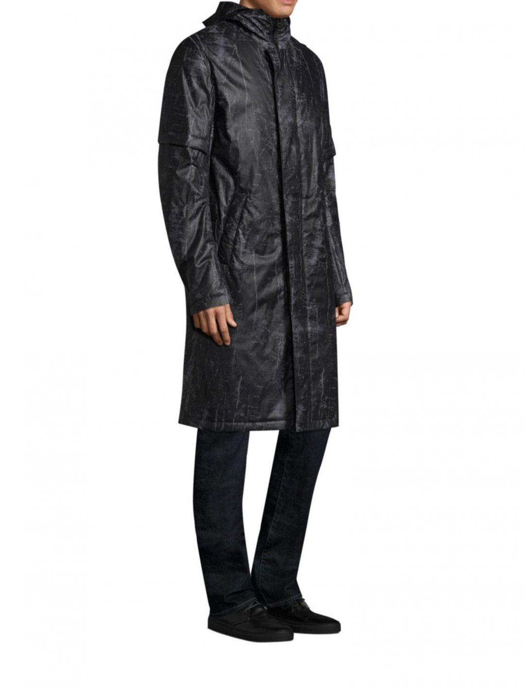 "Flat Hood Raincoat {""id"":5,""product_section_id"":1,""name"":""Clothing"",""order"":5} Helmut Lang"