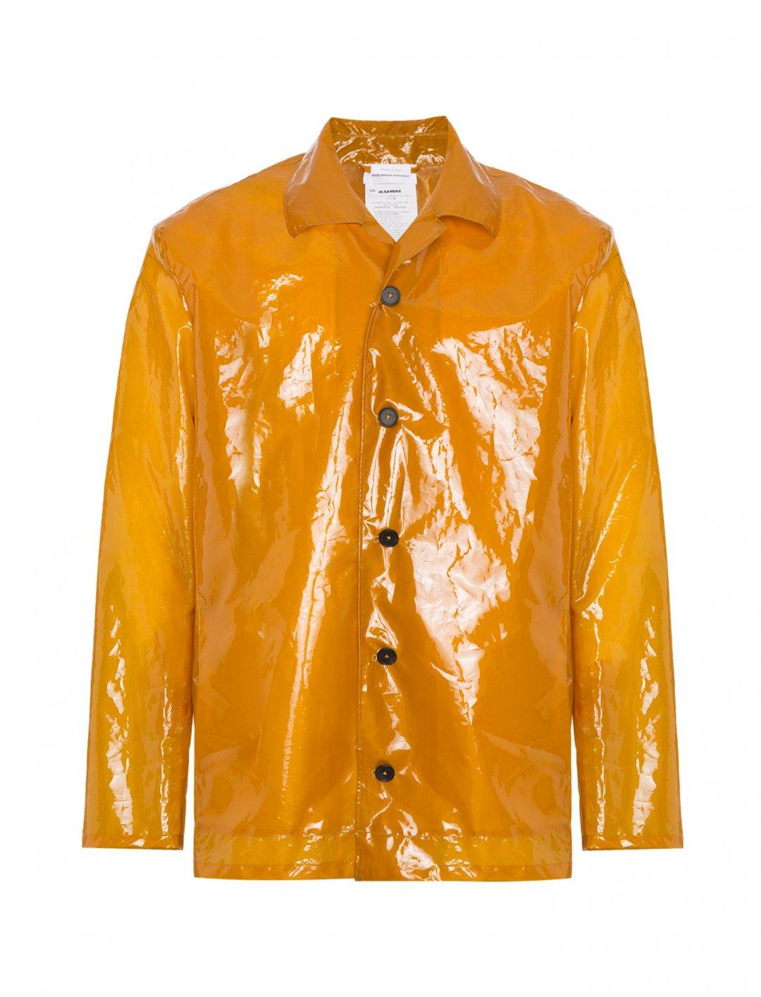 "Tom Grennan's Plastic Raincoat {""id"":5,""product_section_id"":1,""name"":""Clothing"",""order"":5} Jil Sander"