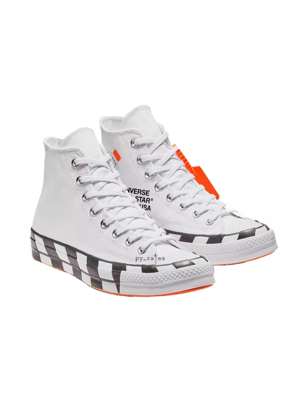 "Converse x Off-White Chuck Taylor {""id"":12,""product_section_id"":1,""name"":""Shoes"",""order"":12} Converse x Off-White"