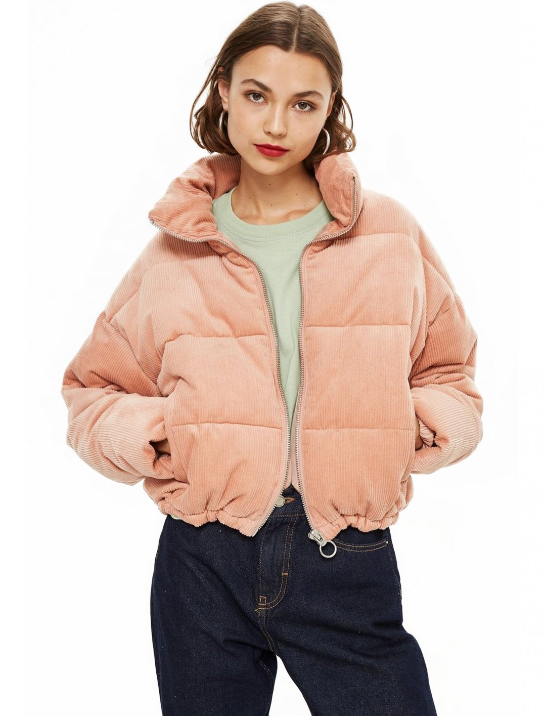 "Corduroy Puffer Jacket {""id"":5,""product_section_id"":1,""name"":""Clothing"",""order"":5} Topshop"