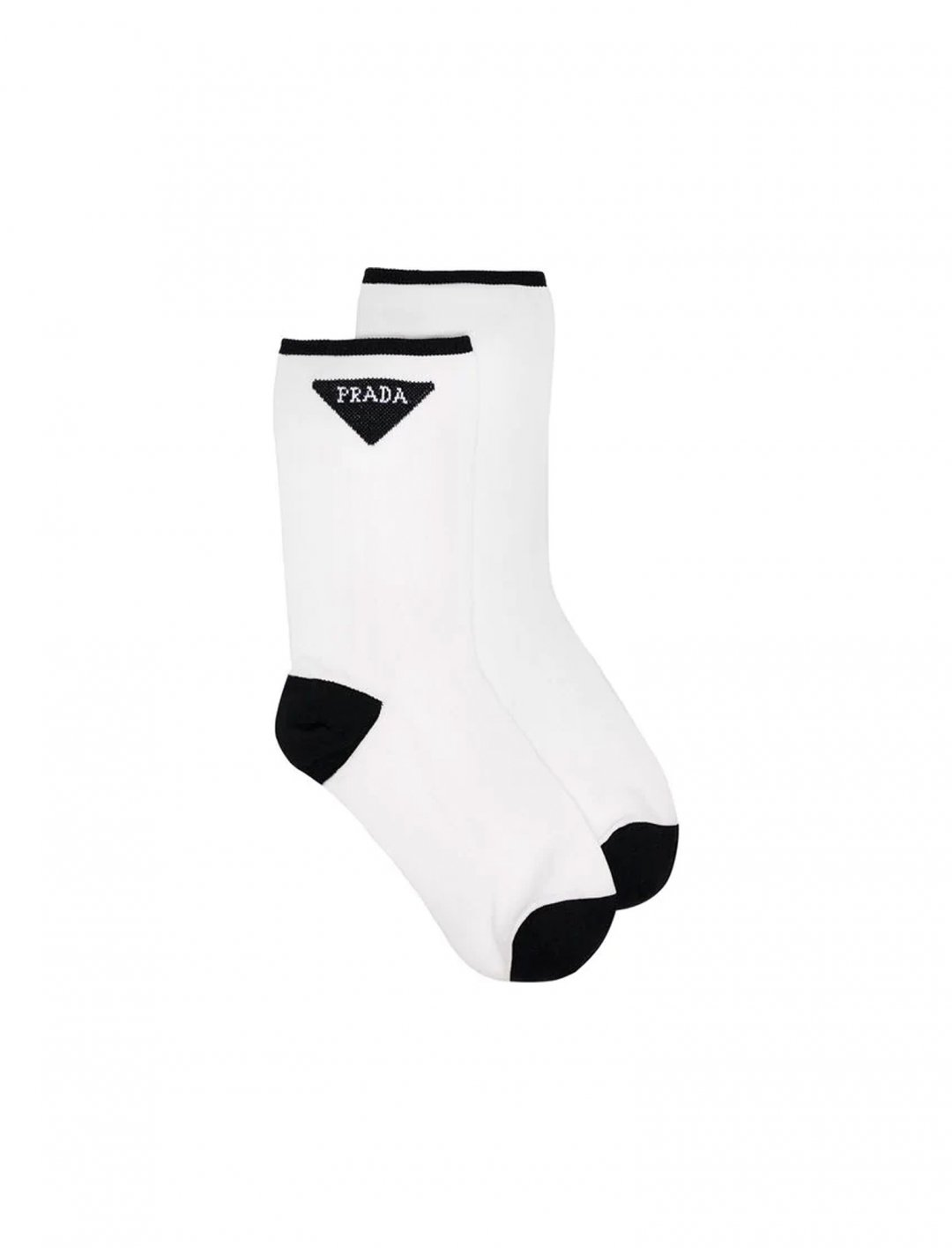 "Logo Stitched Socks {""id"":16,""product_section_id"":1,""name"":""Accessories"",""order"":15} Prada"