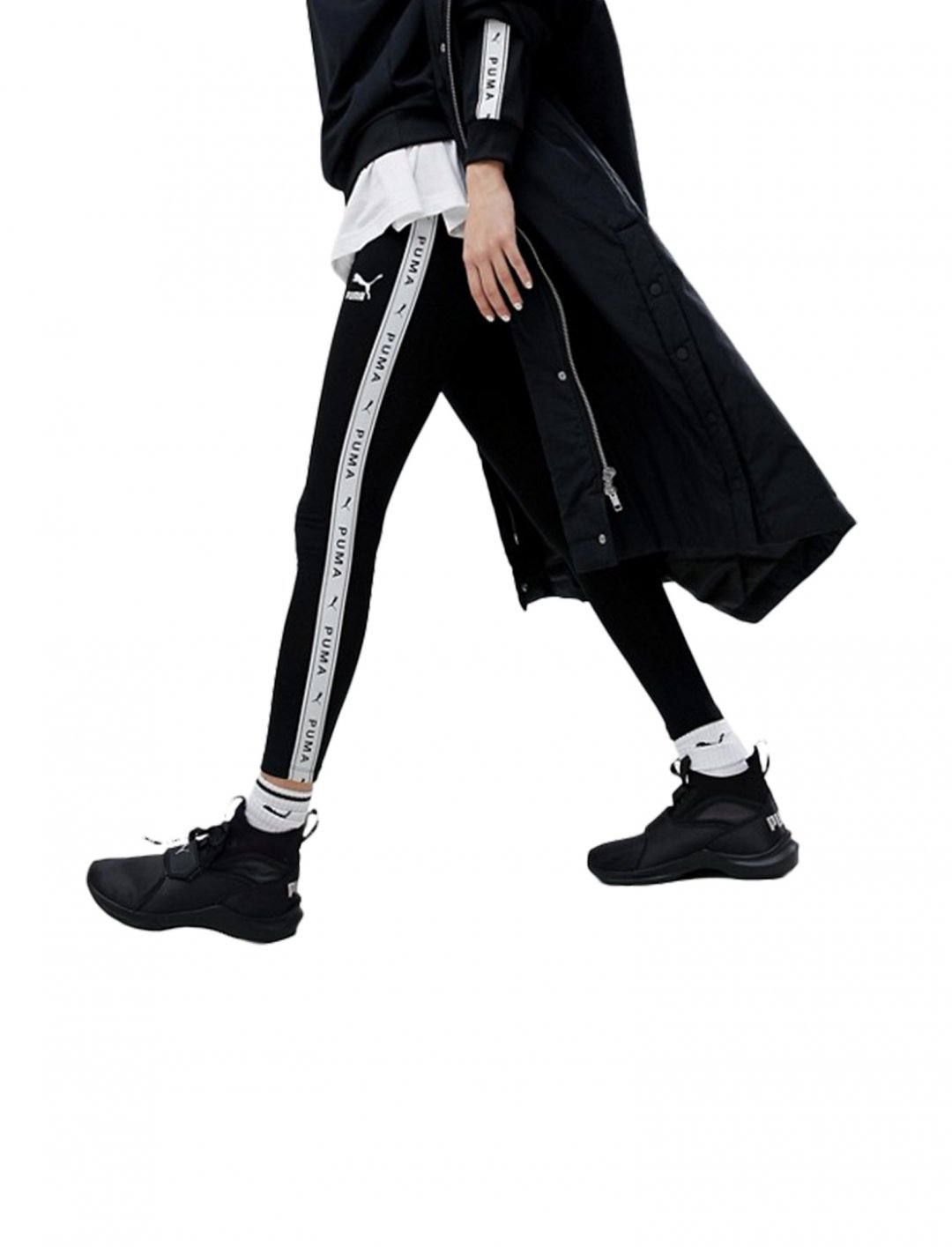"Taped Side Stripe Track Pants {""id"":5,""product_section_id"":1,""name"":""Clothing"",""order"":5} PUMA"