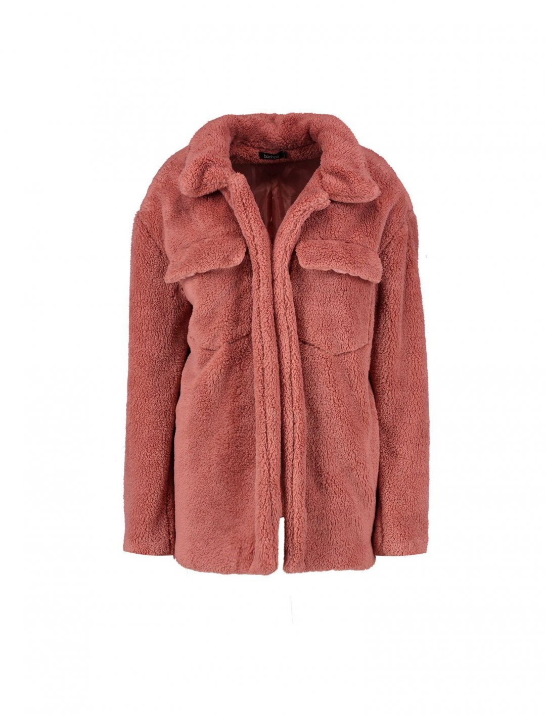 "Teddy Jacket {""id"":5,""product_section_id"":1,""name"":""Clothing"",""order"":5} boohoo"