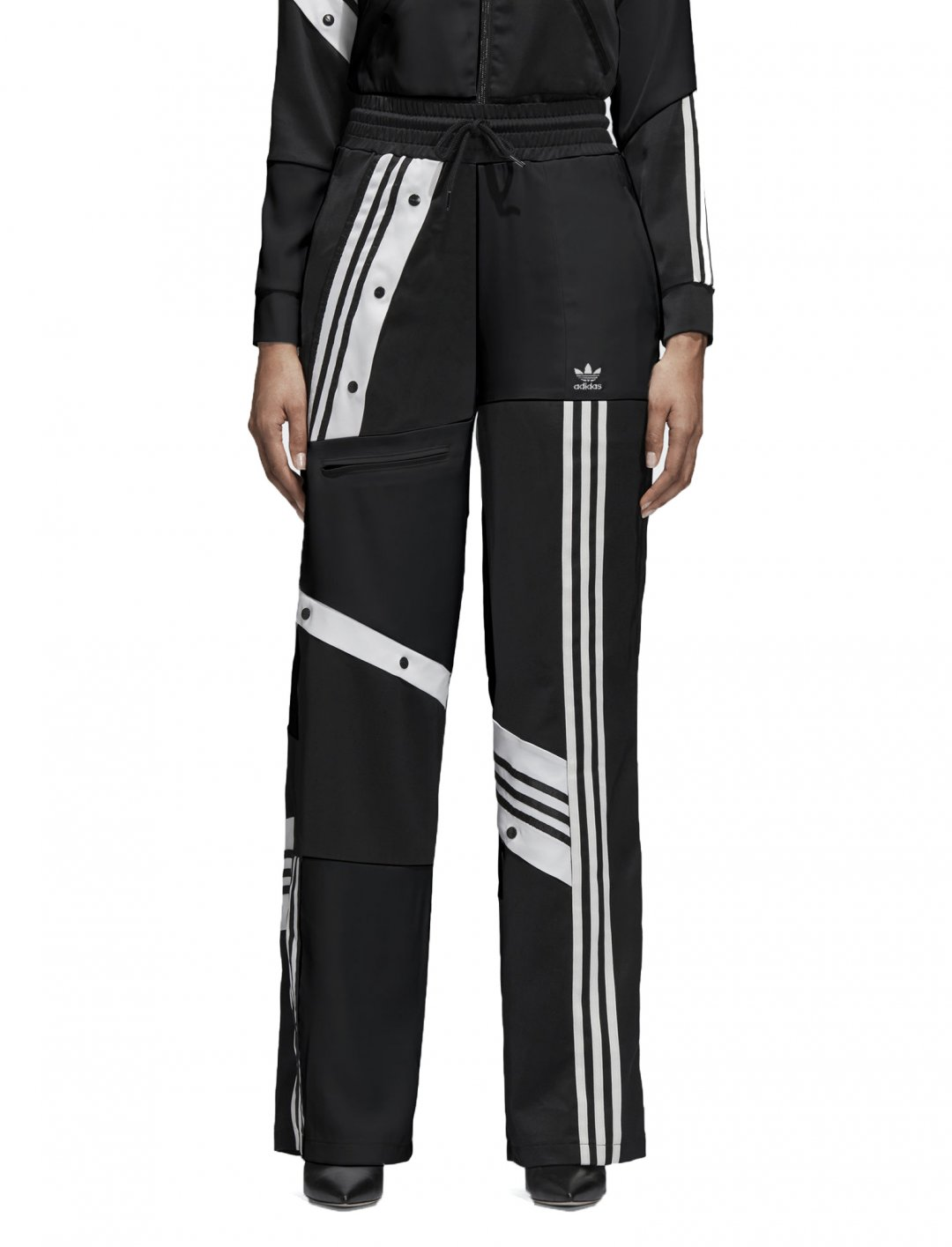 "Track Top In Black {""id"":5,""product_section_id"":1,""name"":""Clothing"",""order"":5} adidas Originals X Danielle Cathari"