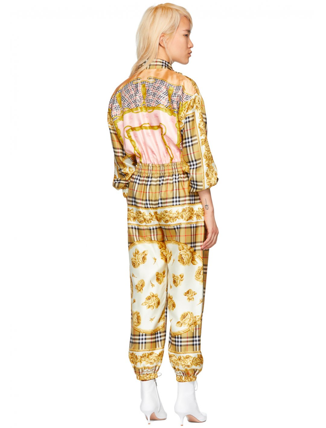 "Vintage Check Jumpsuit {""id"":5,""product_section_id"":1,""name"":""Clothing"",""order"":5} Burberry"