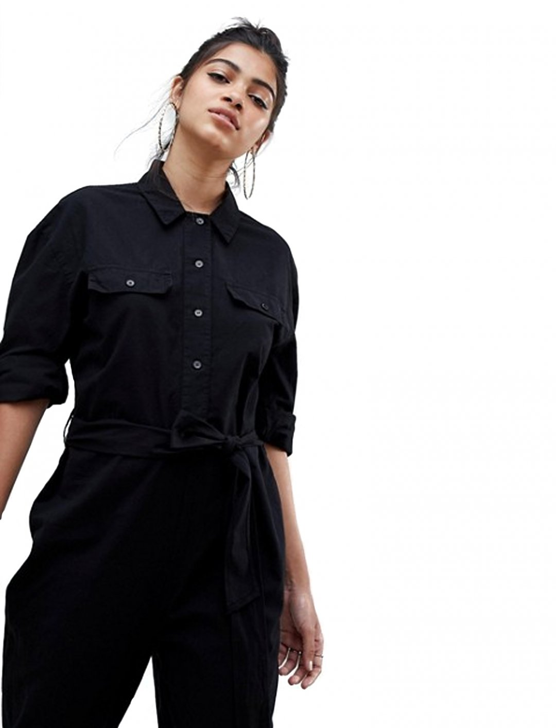 "Boiler Suit in Washed Cotton {""id"":5,""product_section_id"":1,""name"":""Clothing"",""order"":5} ASOS DESIGN"
