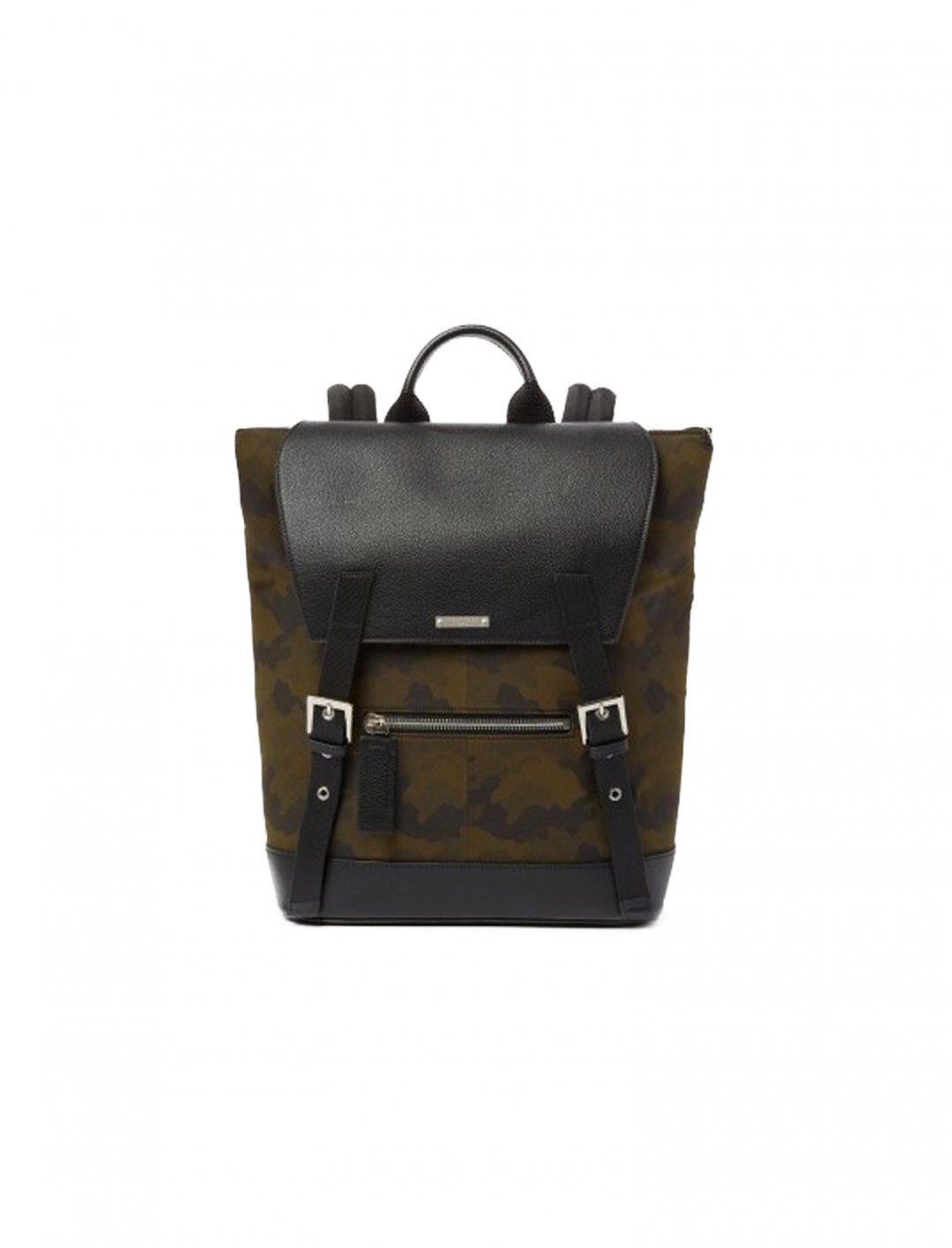 "Zayn's Camouflage Cover Flap Bag {""id"":1,""product_section_id"":1,""name"":""Bags"",""order"":1} The Kooples"