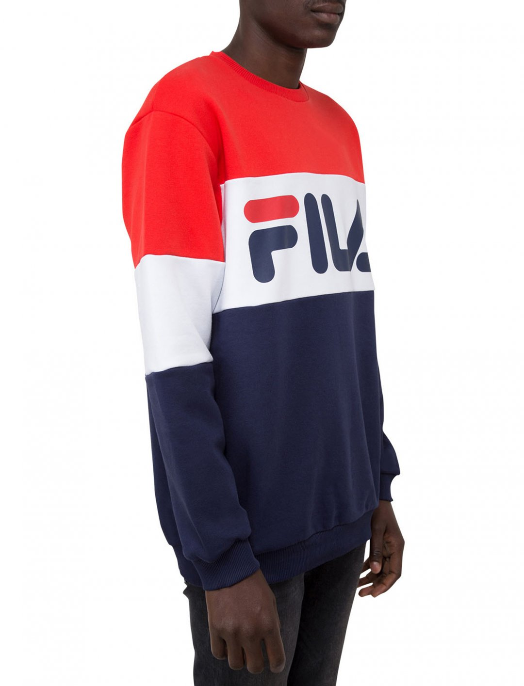 "Blocked Sweatshirt {""id"":5,""product_section_id"":1,""name"":""Clothing"",""order"":5} Fila"
