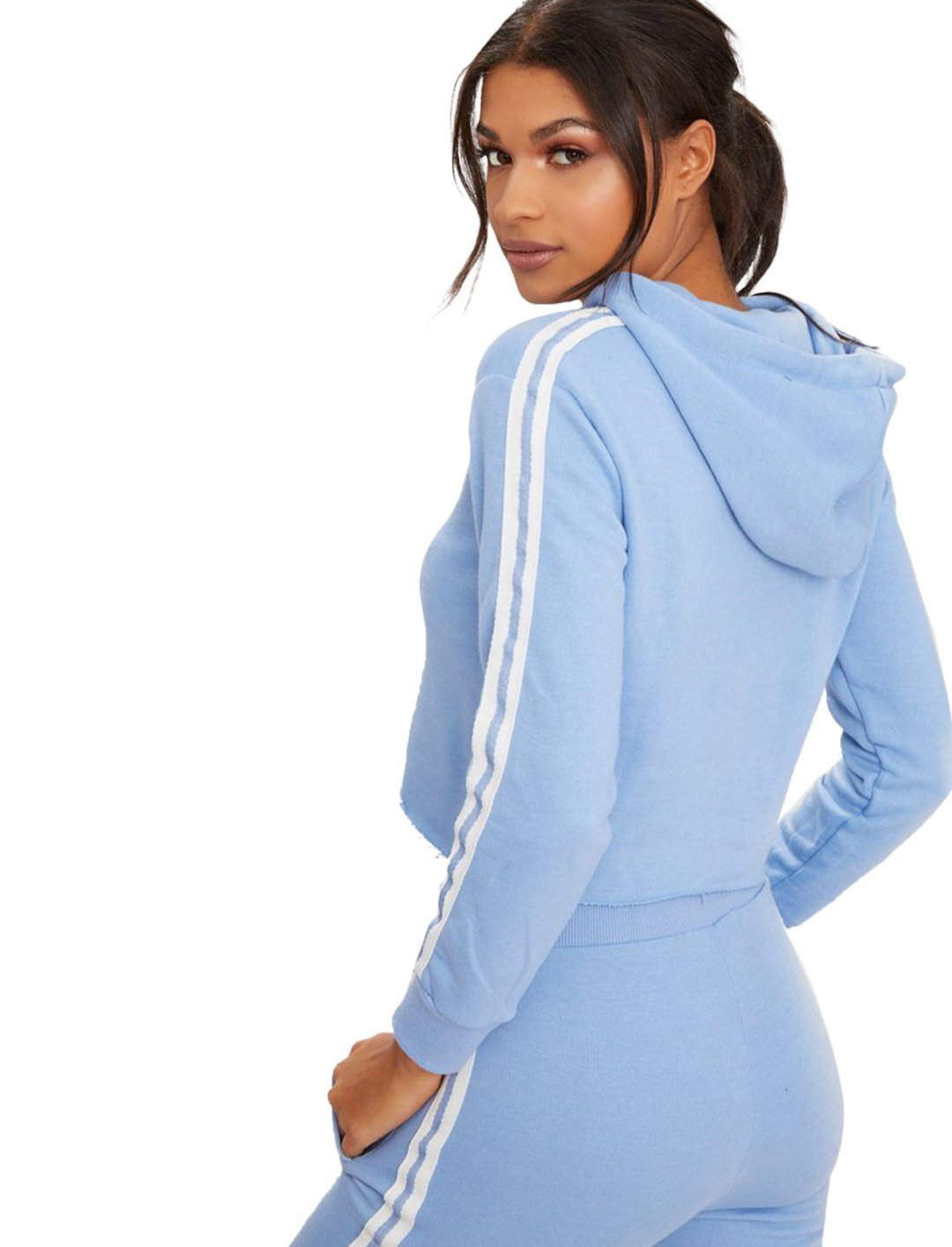 "Side Stripe Hoodie {""id"":5,""product_section_id"":1,""name"":""Clothing"",""order"":5} Pretty Little Thing"