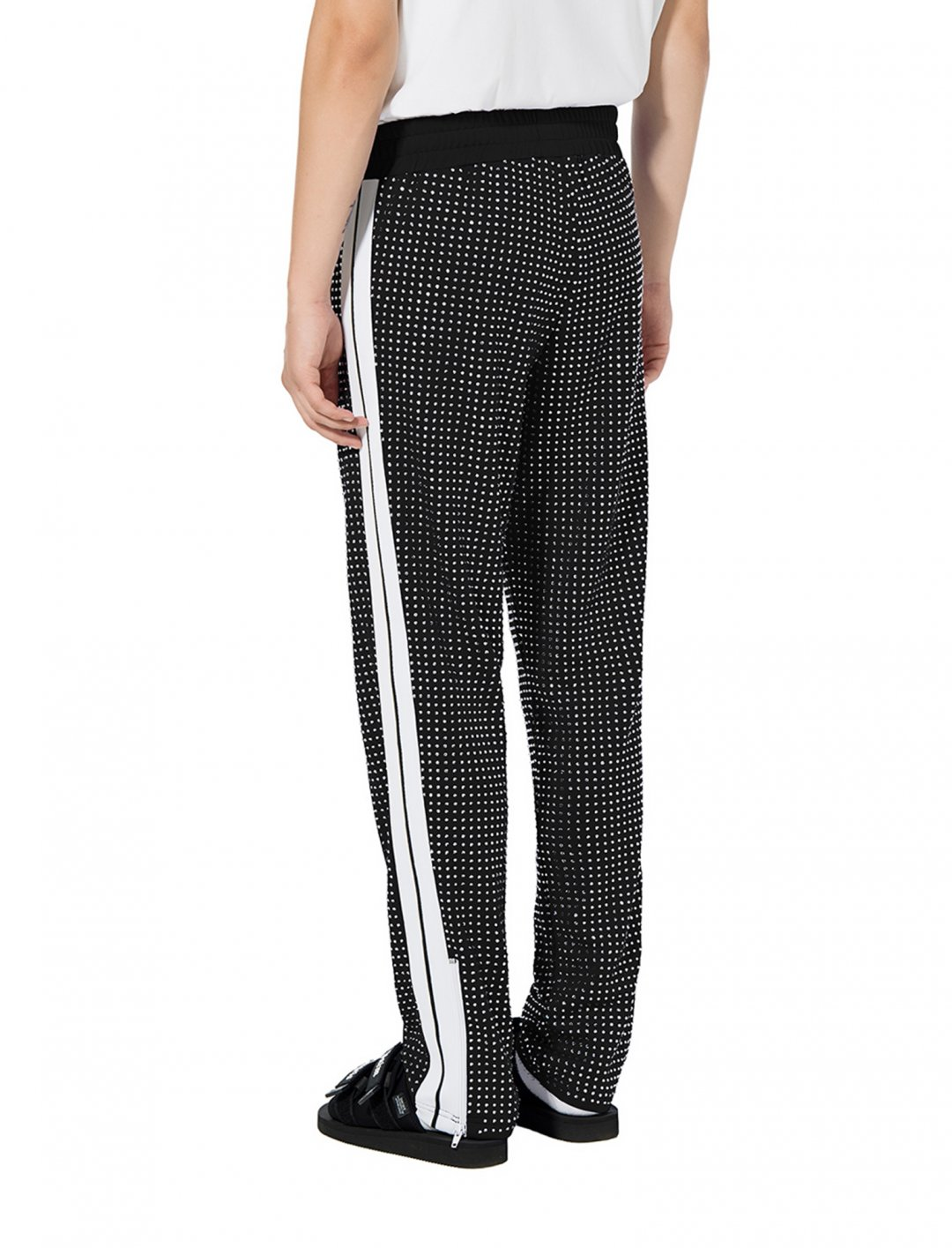 "Ray Blk's Shiny Track Pant {""id"":5,""product_section_id"":1,""name"":""Clothing"",""order"":5} Palm Angels"