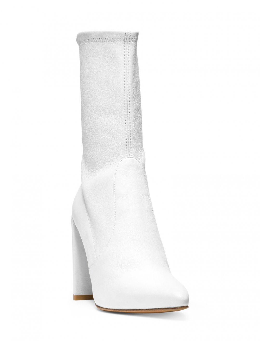 "Ray Blk's White Bootie {""id"":12,""product_section_id"":1,""name"":""Shoes"",""order"":12} Stuart Weitzman"