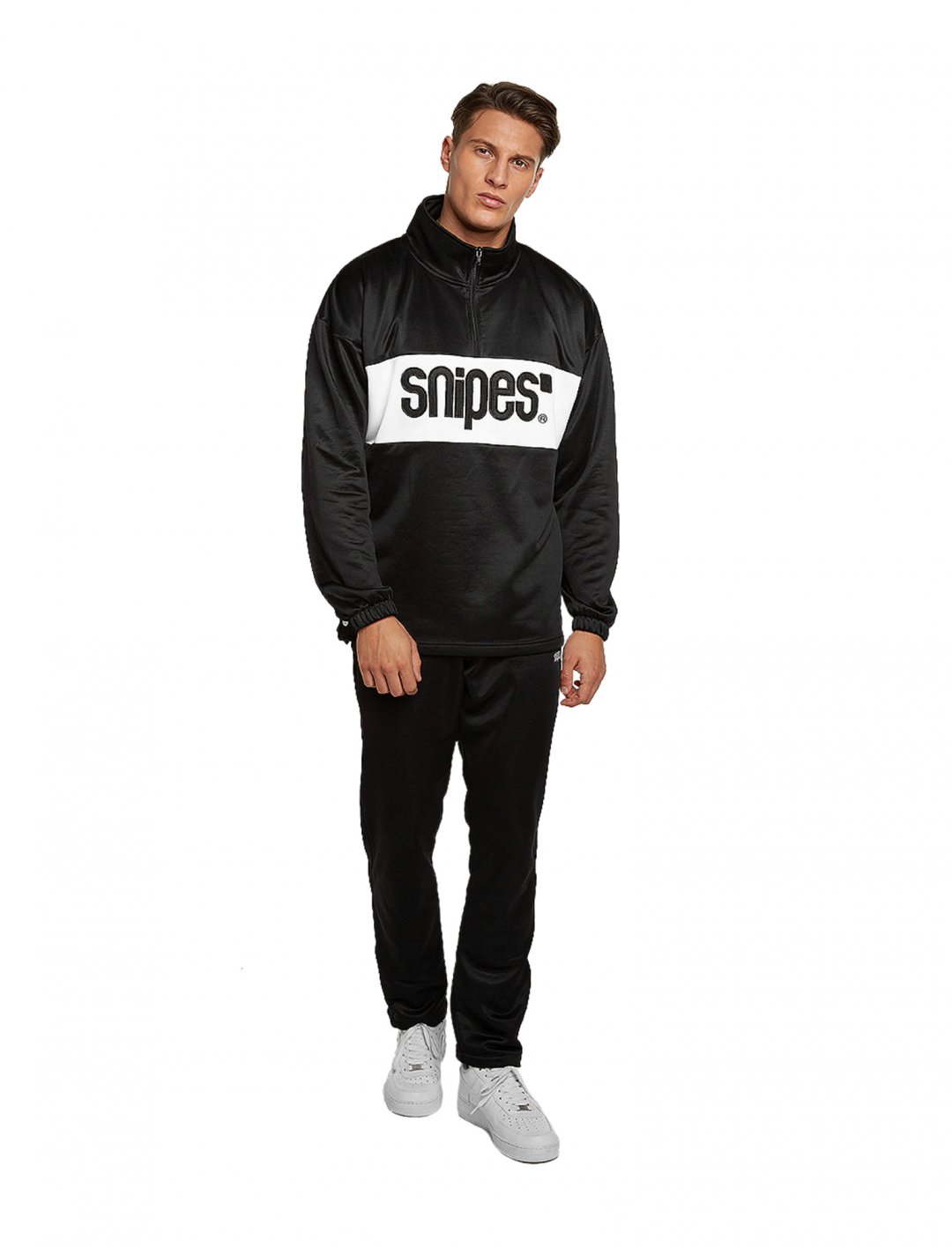 "Sweatshirt Block Troyer {""id"":5,""product_section_id"":1,""name"":""Clothing"",""order"":5} Snipes"