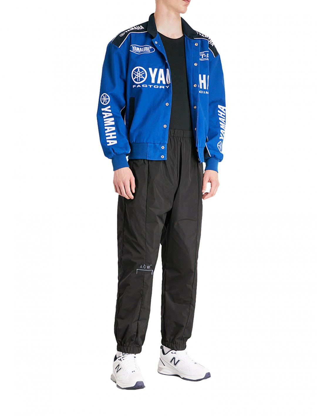 "Yamaha Embroidered Cotton Racing Jacket {""id"":5,""product_section_id"":1,""name"":""Clothing"",""order"":5} Not Applicable"