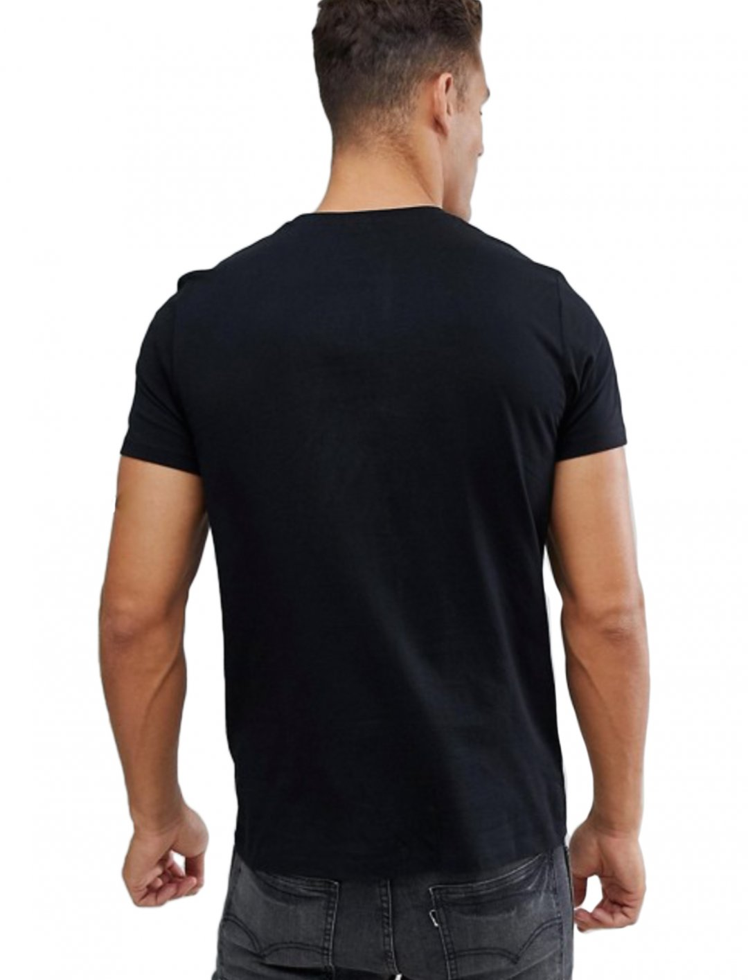 "Black Organic T-Shirt {""id"":5,""product_section_id"":1,""name"":""Clothing"",""order"":5} ASOS DESIGN"