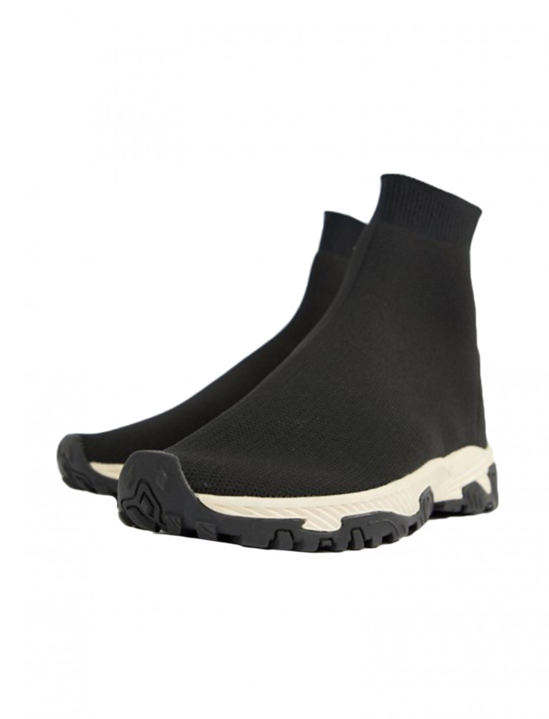 "Black Sock Trainers {""id"":5,""product_section_id"":1,""name"":""Clothing"",""order"":5} ASOS DESIGN"