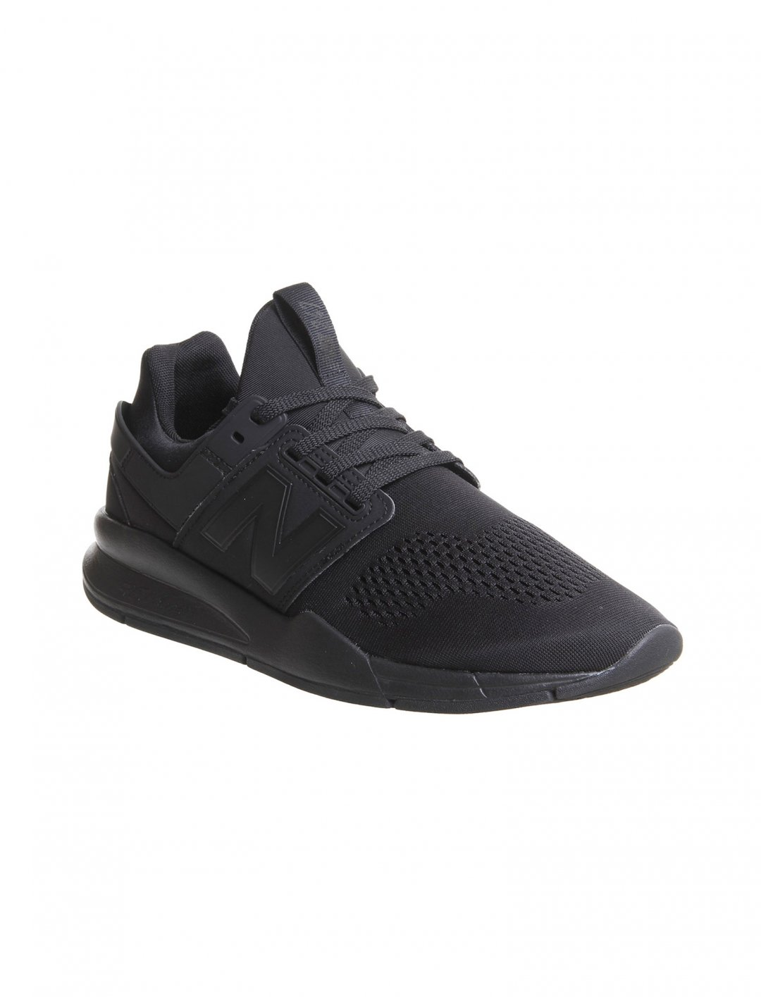 "Black Trainers {""id"":12,""product_section_id"":1,""name"":""Shoes"",""order"":12} New Balance"
