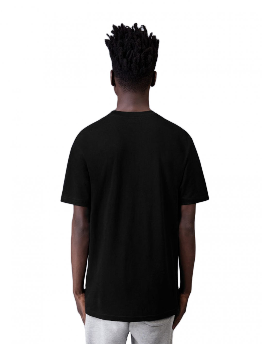 """Craig David's Black T-Shirt {""""id"""":5,""""product_section_id"""":1,""""name"""":""""Clothing"""",""""order"""":5} BLANKS FACTORY"""