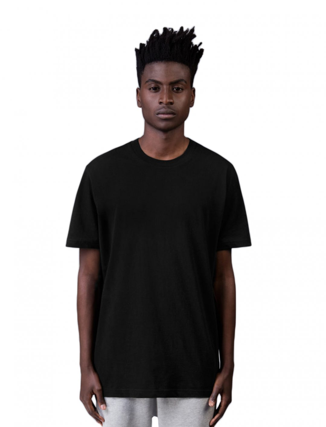 "Craig David's Black T-Shirt {""id"":5,""product_section_id"":1,""name"":""Clothing"",""order"":5} BLANKS FACTORY"