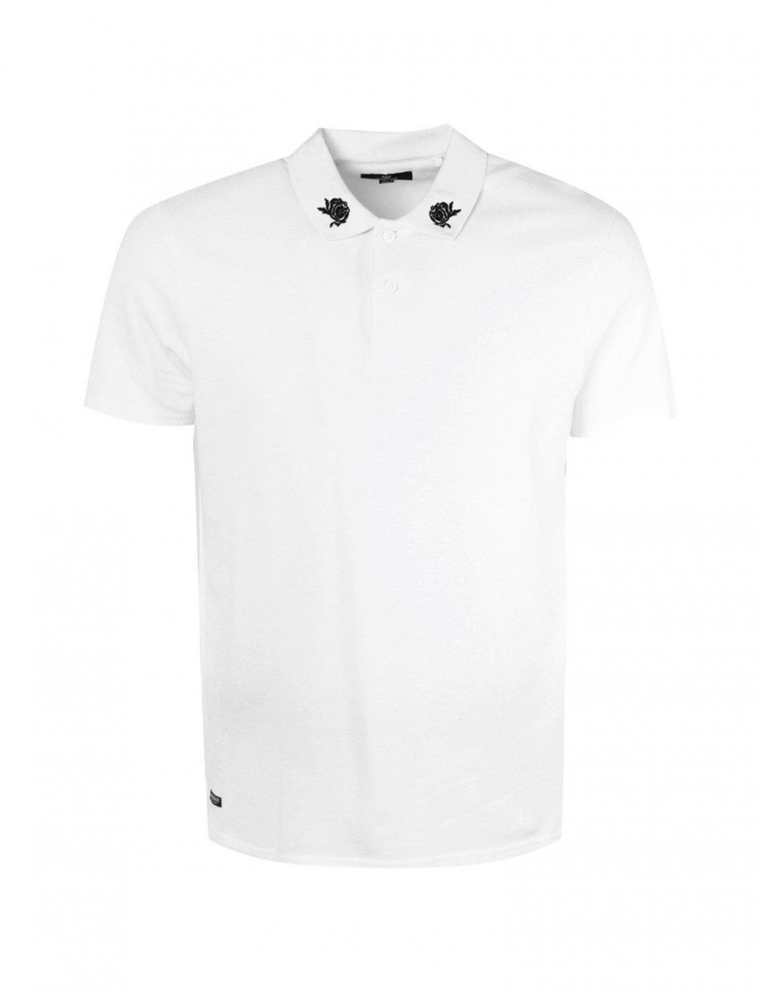 "Embroidered White Shirt {""id"":5,""product_section_id"":1,""name"":""Clothing"",""order"":5} boohooMAN"