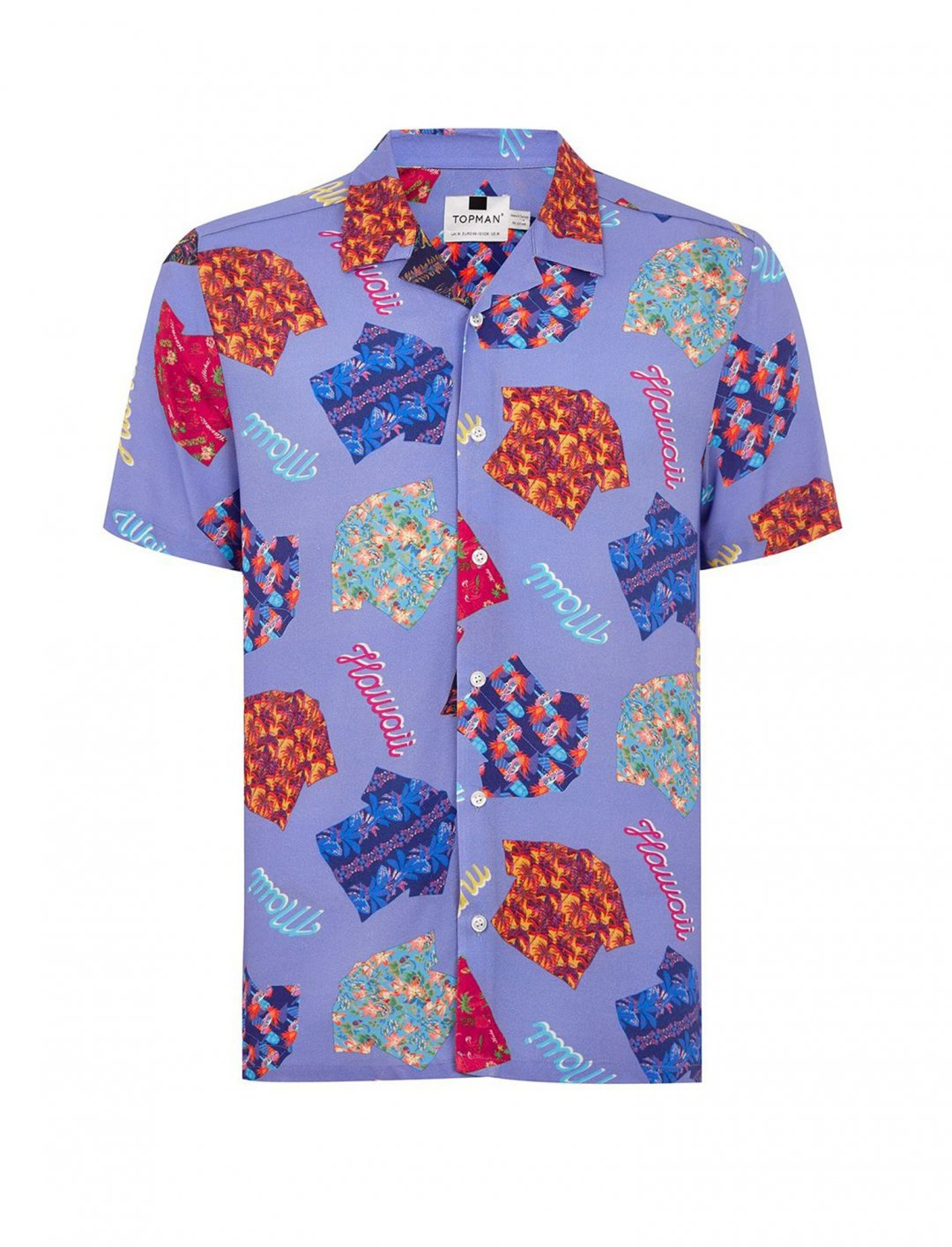 "Hawaiian Short Sleeve Shirt {""id"":5,""product_section_id"":1,""name"":""Clothing"",""order"":5} Topman"