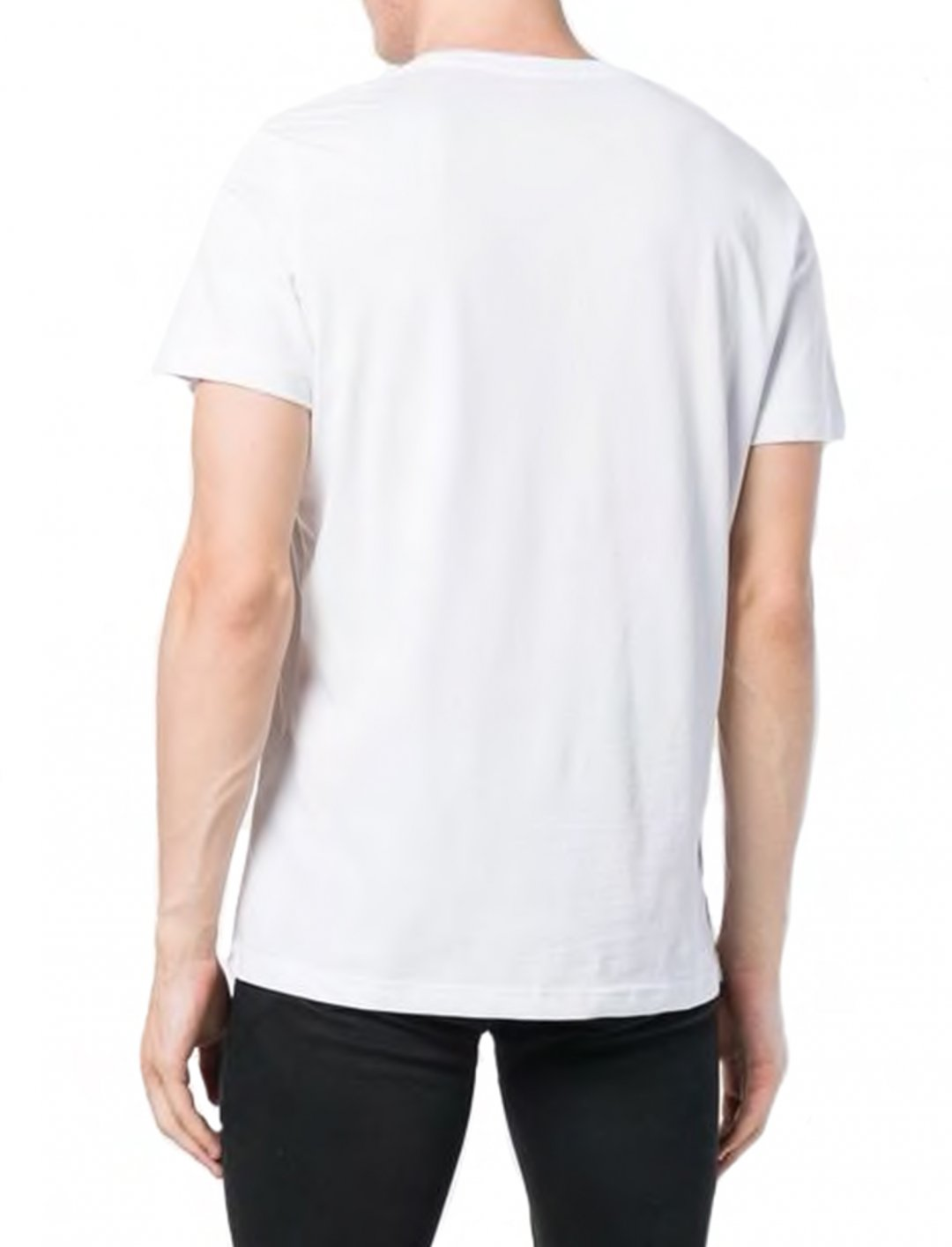 "Logo Embroidered T-Shirt {""id"":5,""product_section_id"":1,""name"":""Clothing"",""order"":5} Versace Jeans"