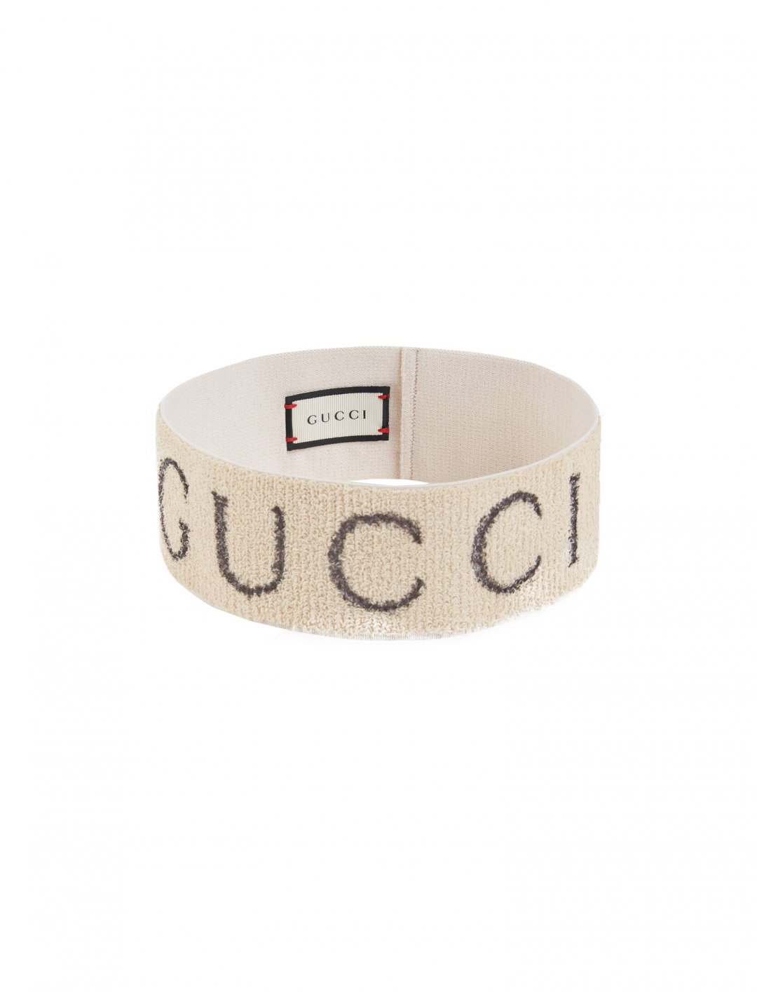 "One Acen's Vintage Logo Headband {""id"":16,""product_section_id"":1,""name"":""Accessories"",""order"":15} Gucci"