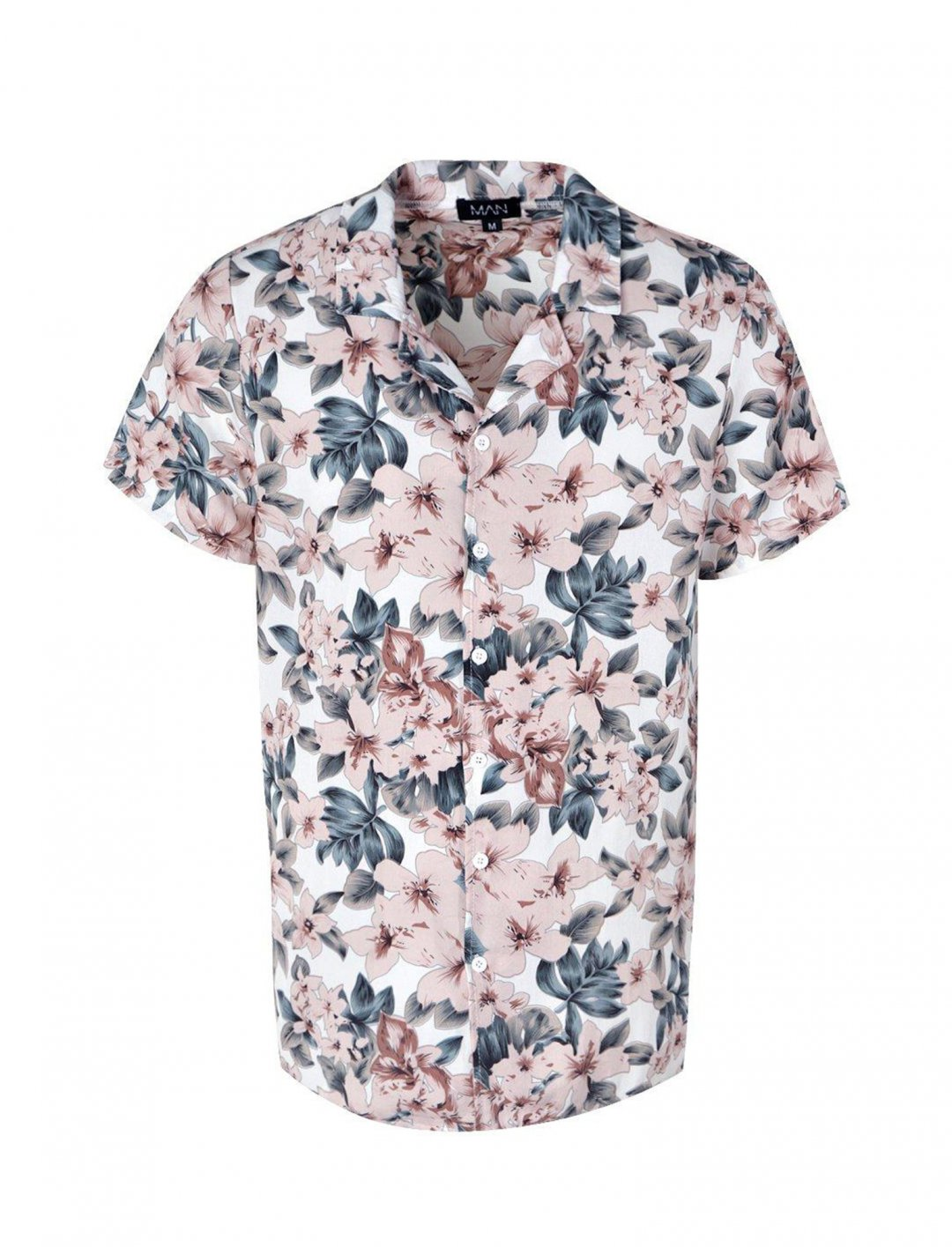 "Pink Floral Shirt {""id"":5,""product_section_id"":1,""name"":""Clothing"",""order"":5} Boohoo"
