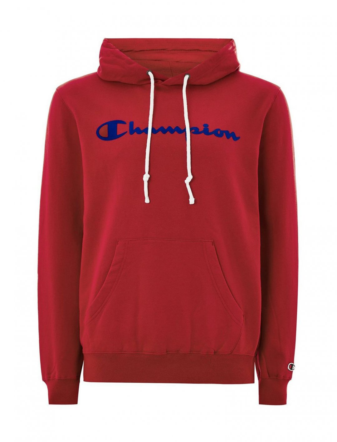 "Red 'Corporate' Hoodie {""id"":5,""product_section_id"":1,""name"":""Clothing"",""order"":5} Champion"