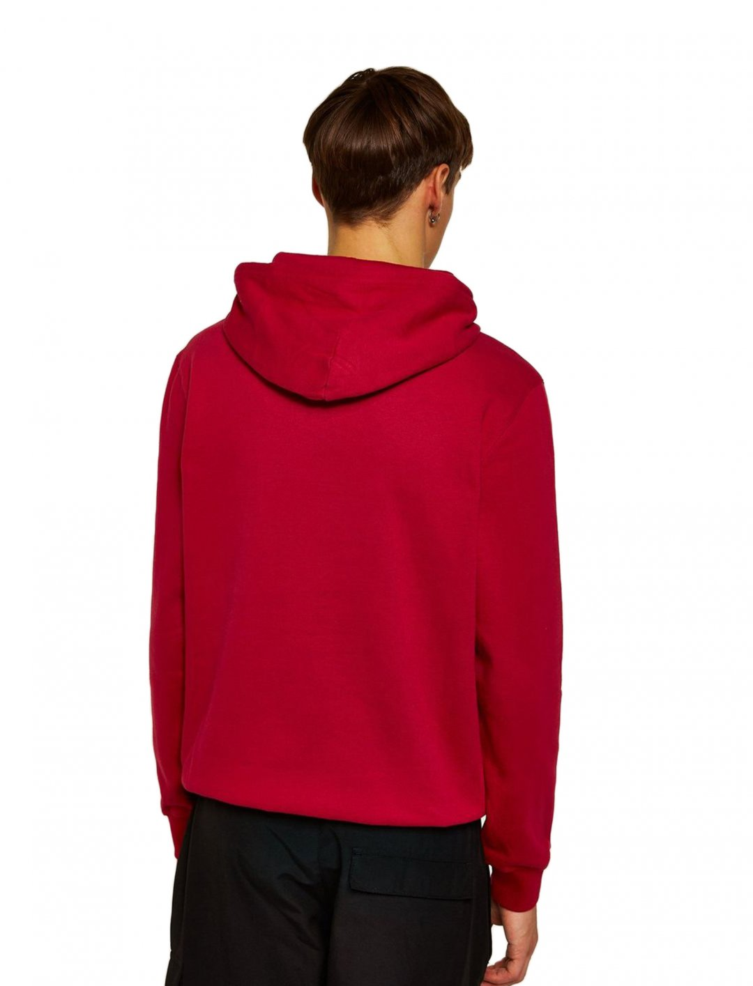 """Red 'Corporate' Hoodie {""""id"""":5,""""product_section_id"""":1,""""name"""":""""Clothing"""",""""order"""":5} Champion"""