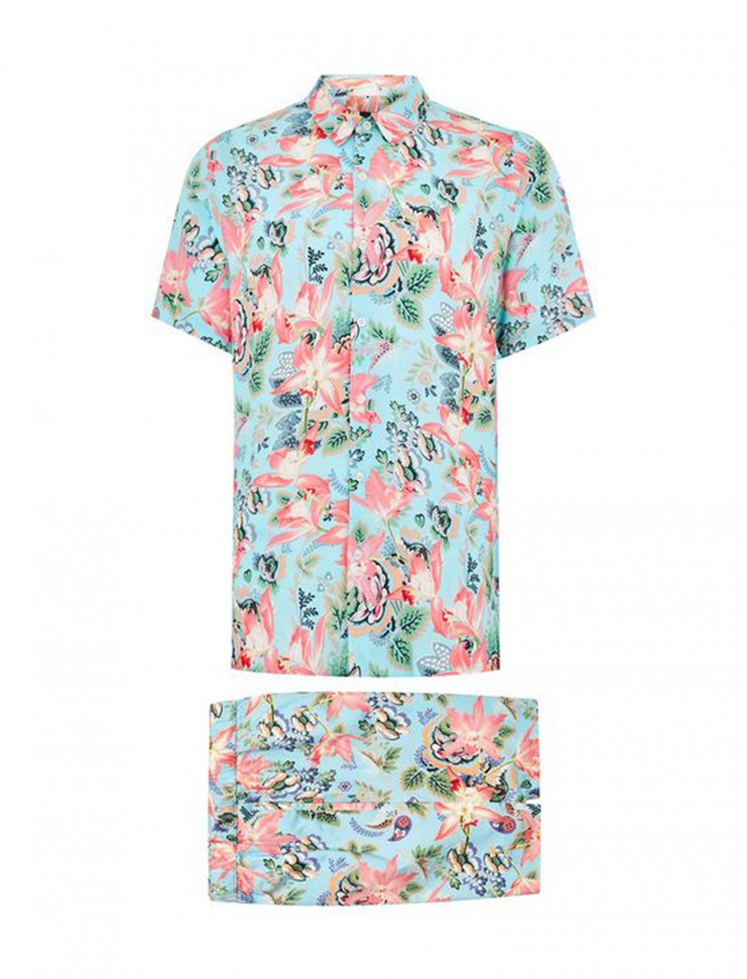 "Shirt and Shorts Co-Ord Set {""id"":5,""product_section_id"":1,""name"":""Clothing"",""order"":5} Topman"