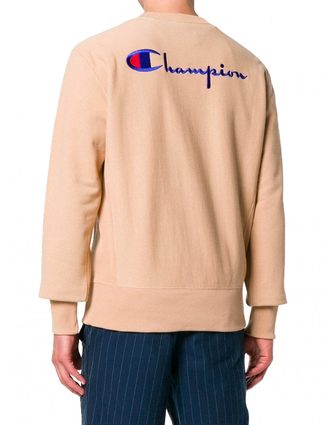"Small Script Sweatshirt {""id"":5,""product_section_id"":1,""name"":""Clothing"",""order"":5} Champion"