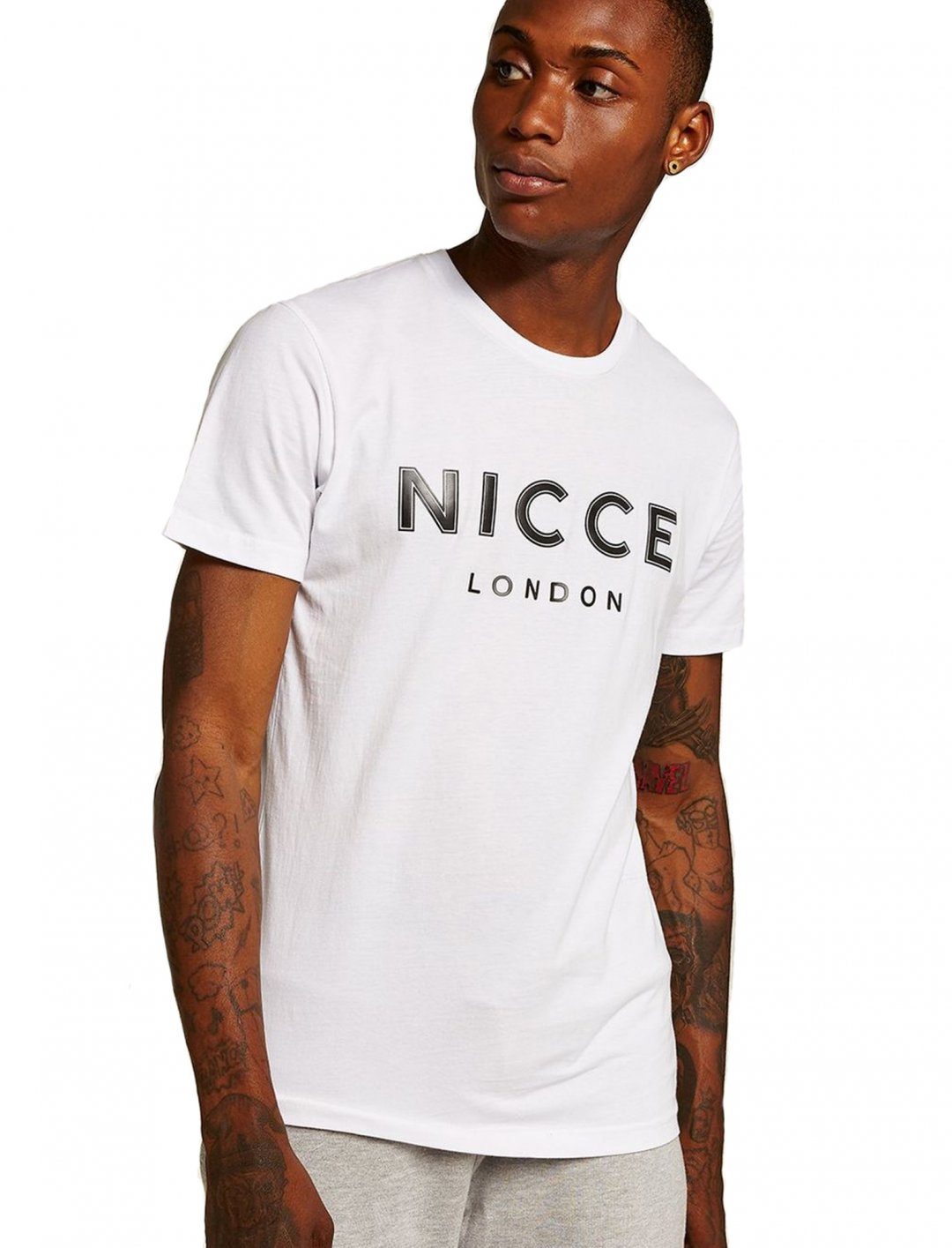 "White Core T-Shirt {""id"":5,""product_section_id"":1,""name"":""Clothing"",""order"":5} NICCE"