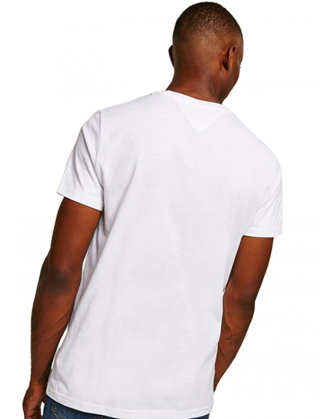 "White Script T-Shirt {""id"":5,""product_section_id"":1,""name"":""Clothing"",""order"":5} Tommy Hilfiger"