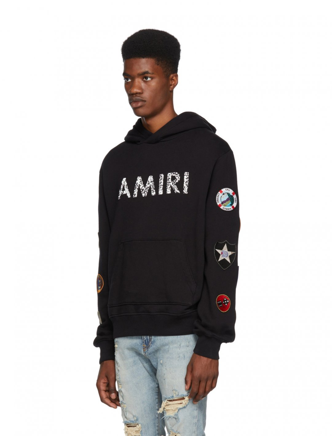 """Yungen's Amiri Patch Hoodie {""""id"""":5,""""product_section_id"""":1,""""name"""":""""Clothing"""",""""order"""":5} Amiri"""