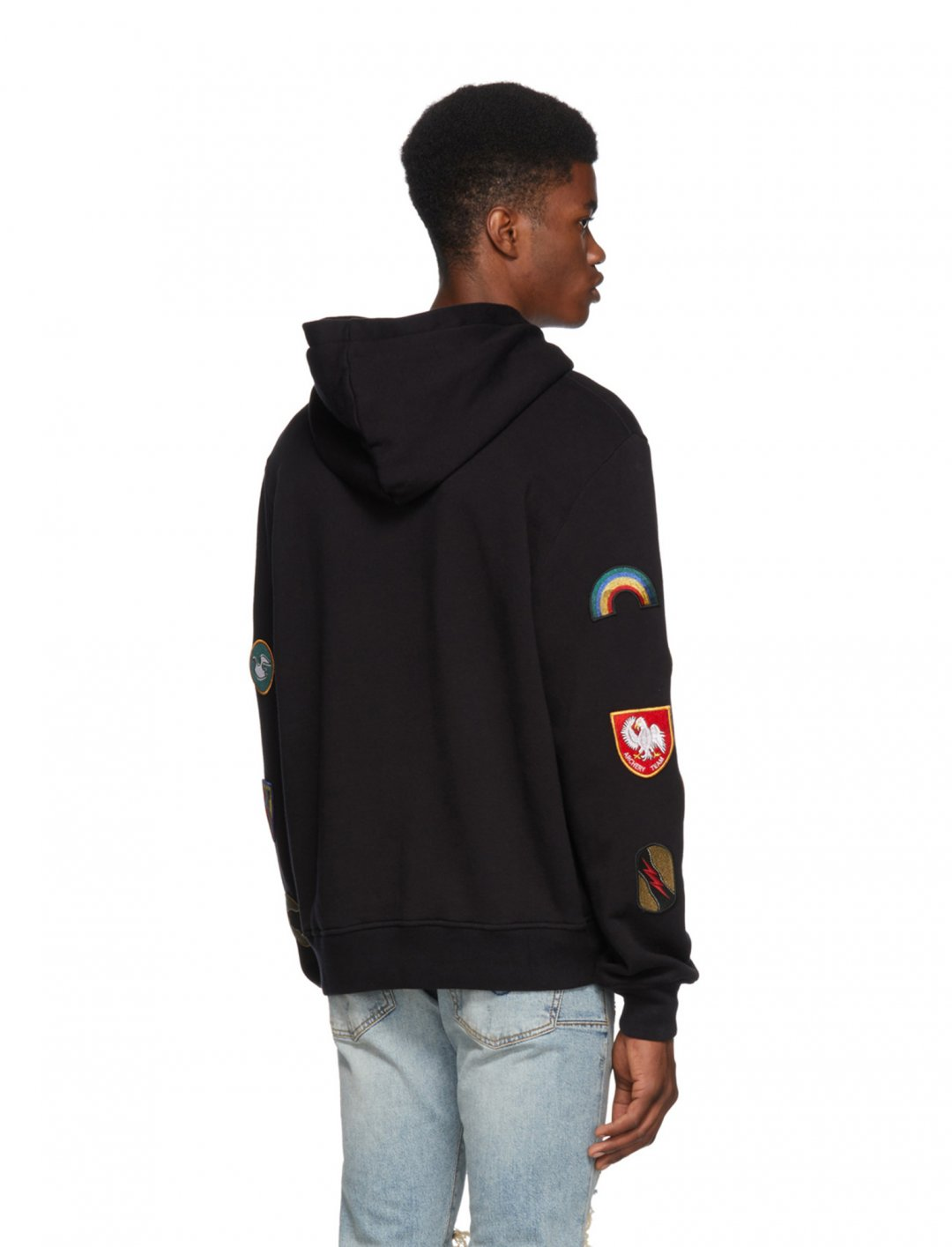 "Yungen's Amiri Patch Hoodie {""id"":5,""product_section_id"":1,""name"":""Clothing"",""order"":5} Amiri"