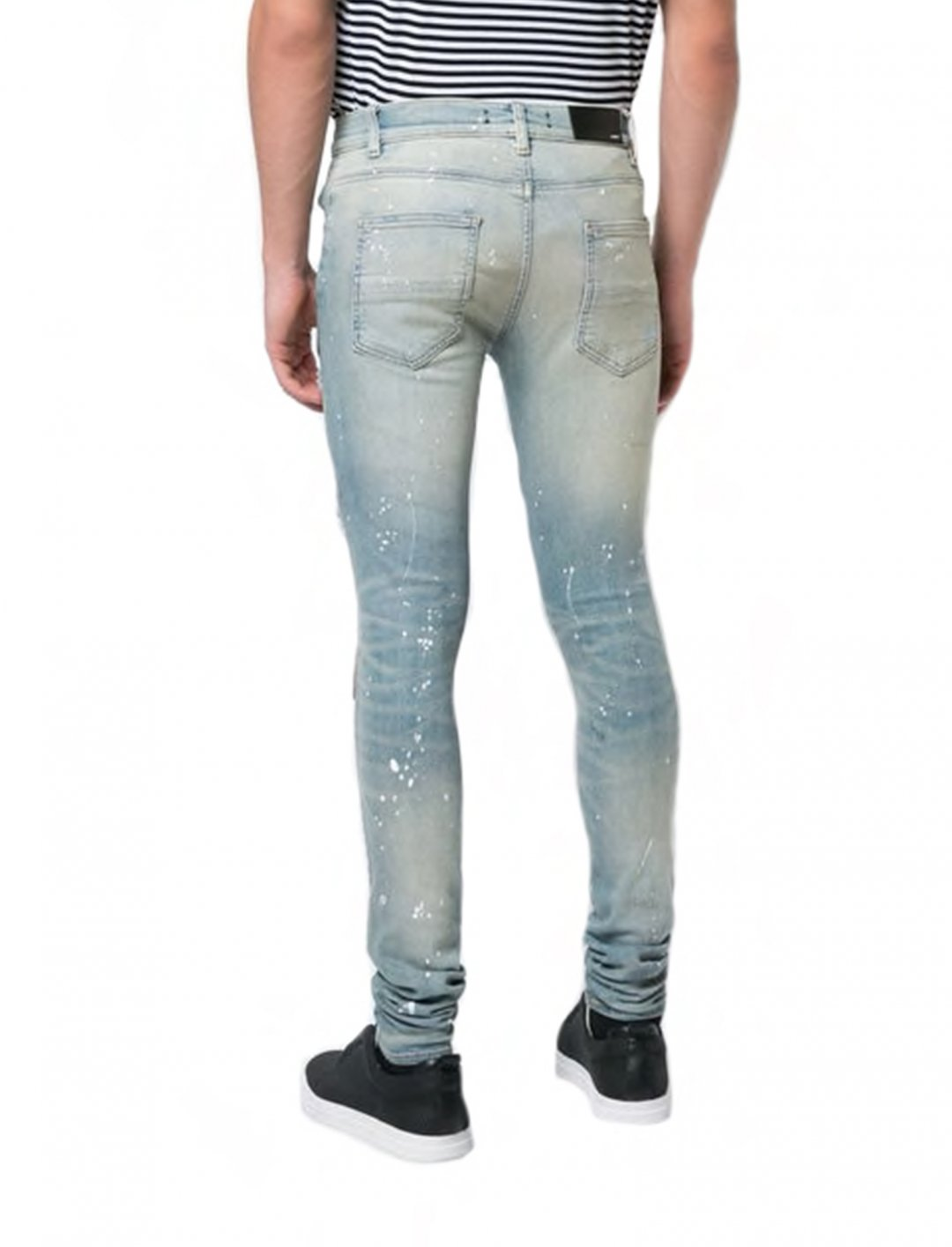 "Yungen's Distressed Skinny Jeans {""id"":5,""product_section_id"":1,""name"":""Clothing"",""order"":5} Amiri"