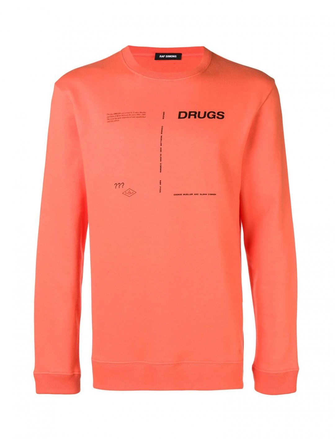 "Yungen's Drugs Sweatshirt {""id"":5,""product_section_id"":1,""name"":""Clothing"",""order"":5} Raf Simons"