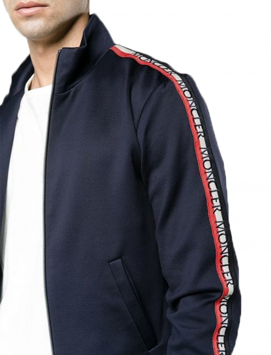 """Yungen's Side Stripe Jacket {""""id"""":5,""""product_section_id"""":1,""""name"""":""""Clothing"""",""""order"""":5} Moncler"""