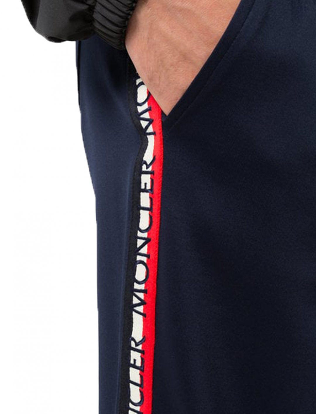 """Yungen's Side Stripe Track Pants {""""id"""":5,""""product_section_id"""":1,""""name"""":""""Clothing"""",""""order"""":5} Moncler"""