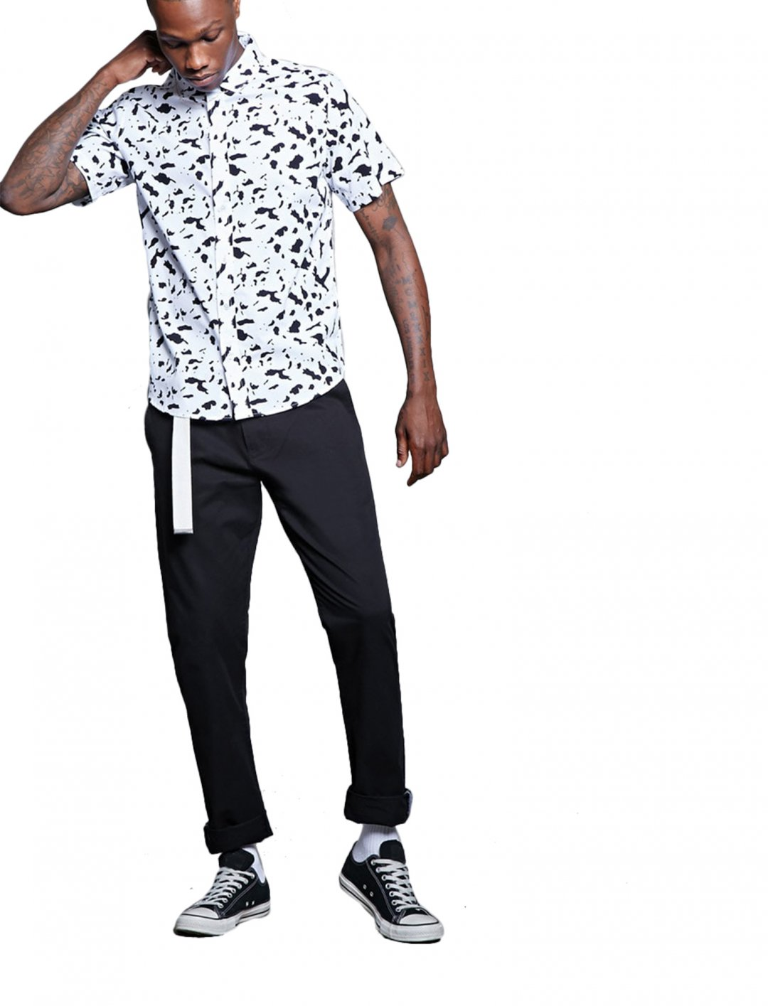 """Forever21 Cow Print Shirt {""""id"""":5,""""product_section_id"""":1,""""name"""":""""Clothing"""",""""order"""":5} Forever21"""
