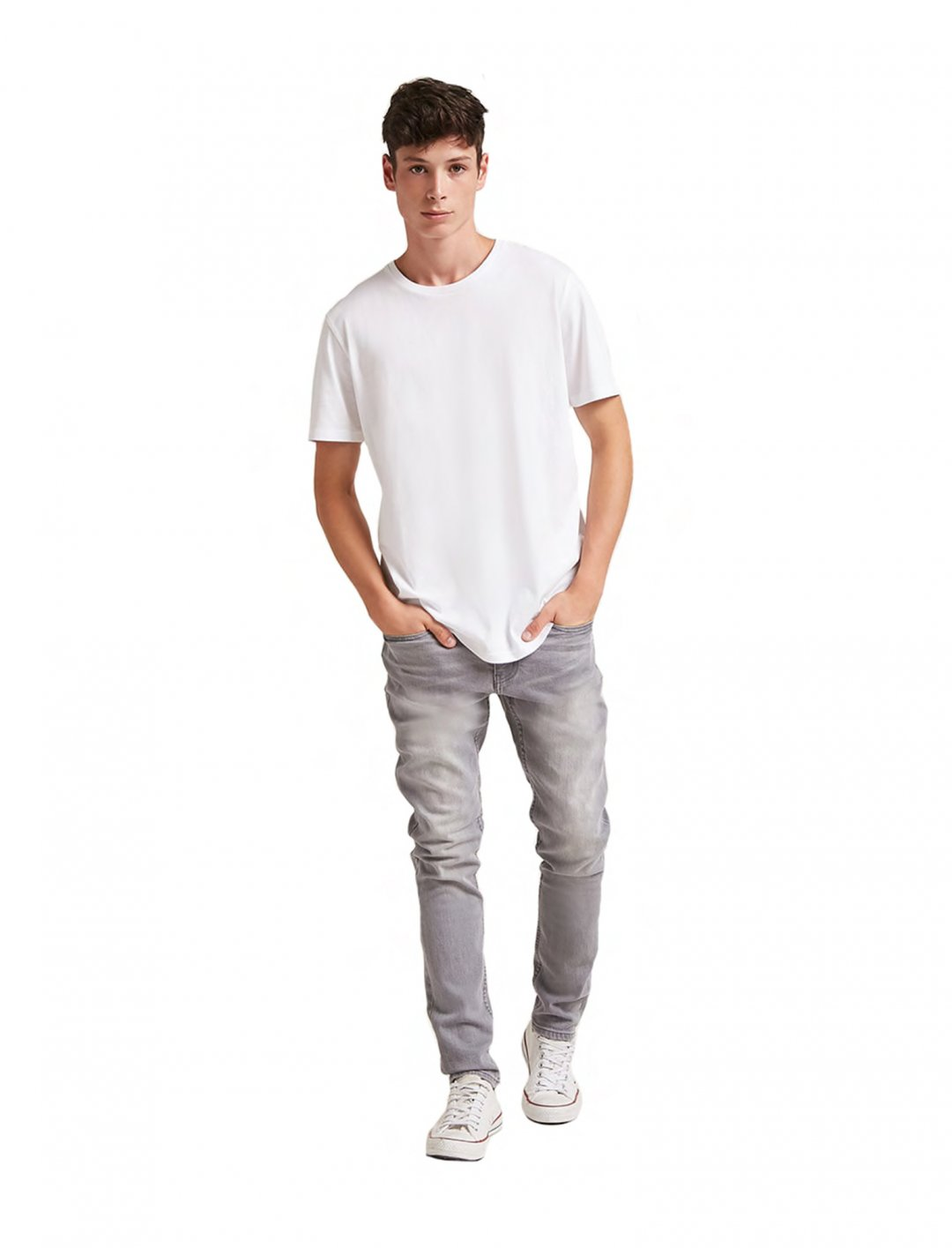 "Forever21Cotton Crew Neck Tee {""id"":5,""product_section_id"":1,""name"":""Clothing"",""order"":5} Forever21"