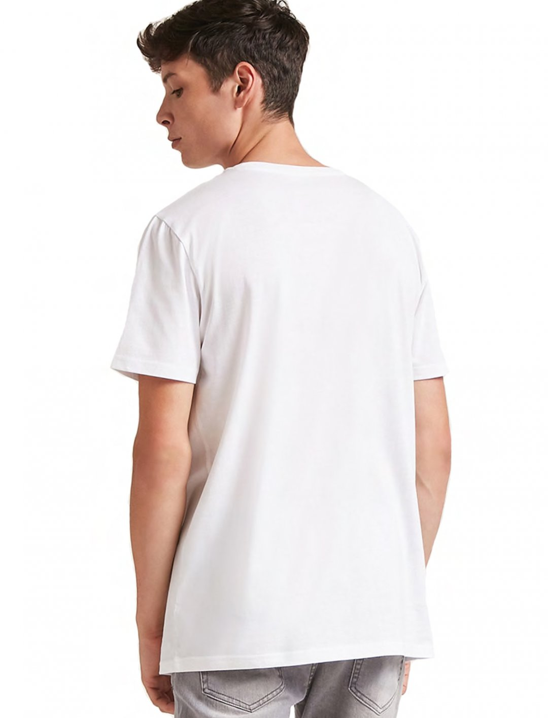 """Forever21Cotton Crew Neck Tee {""""id"""":5,""""product_section_id"""":1,""""name"""":""""Clothing"""",""""order"""":5} Forever21"""
