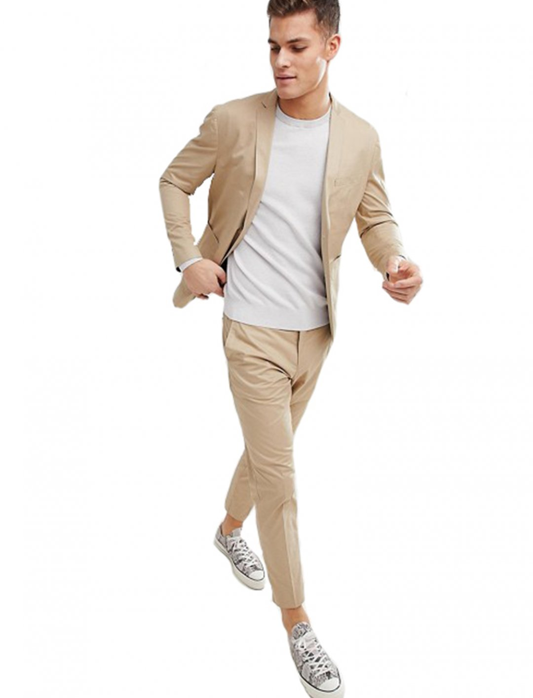 """Selected Homme Slim Beige Suit {""""id"""":5,""""product_section_id"""":1,""""name"""":""""Clothing"""",""""order"""":5} Selected Homme"""