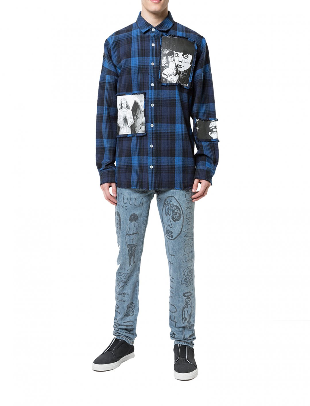 """Zayn's Mindful Doodles Jeans {""""id"""":5,""""product_section_id"""":1,""""name"""":""""Clothing"""",""""order"""":5} Haculla"""