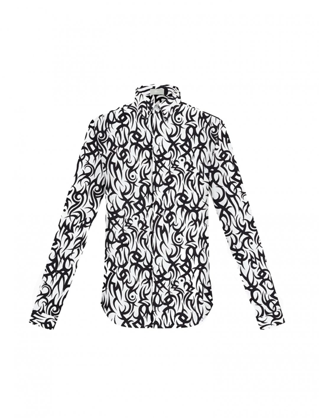 """Zayn's Printed Shirt {""""id"""":5,""""product_section_id"""":1,""""name"""":""""Clothing"""",""""order"""":5} Dior Homme"""