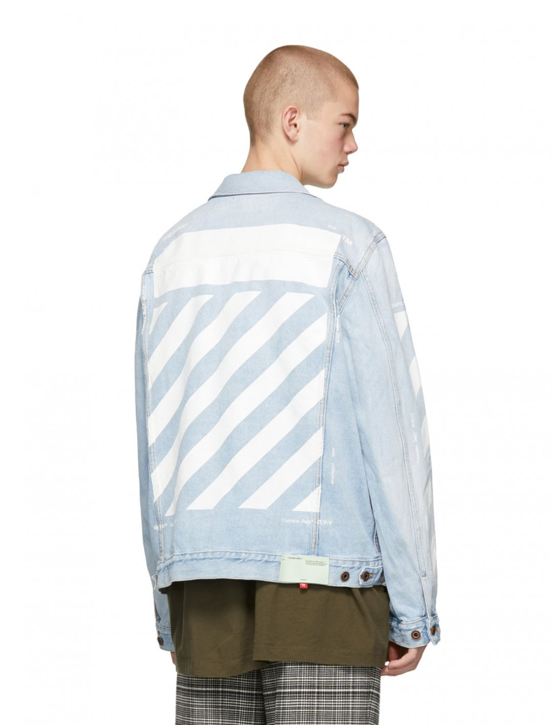 "Denim Jacket {""id"":5,""product_section_id"":1,""name"":""Clothing"",""order"":5} Off-White"