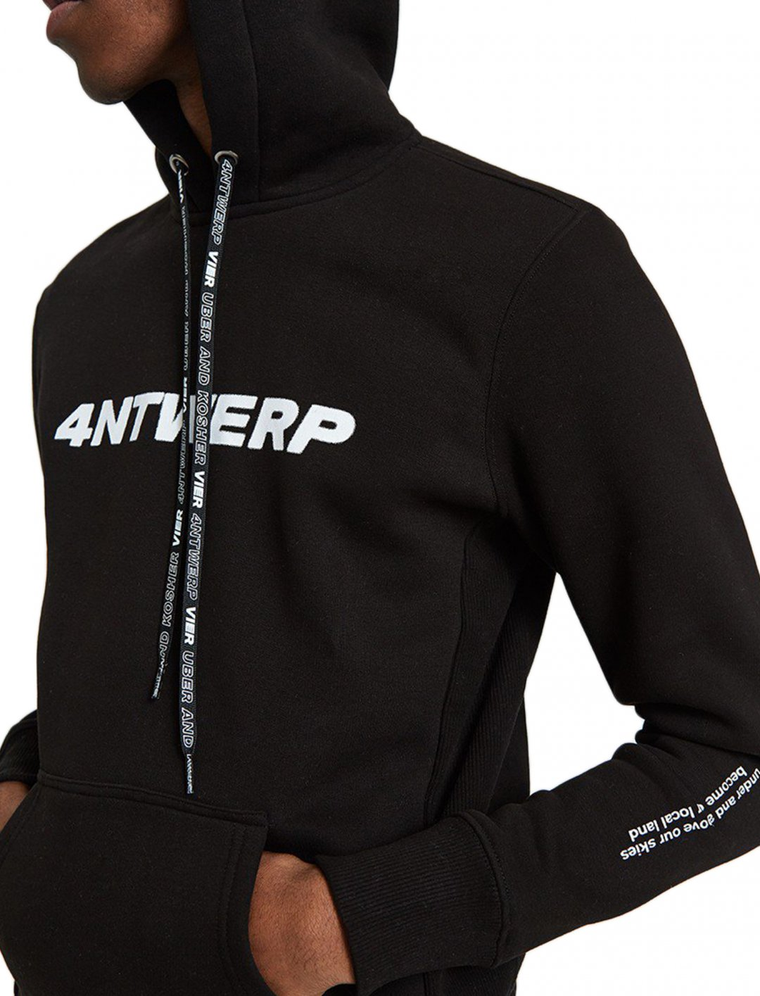"Hoodie In Black {""id"":5,""product_section_id"":1,""name"":""Clothing"",""order"":5} Vier Antwerp"