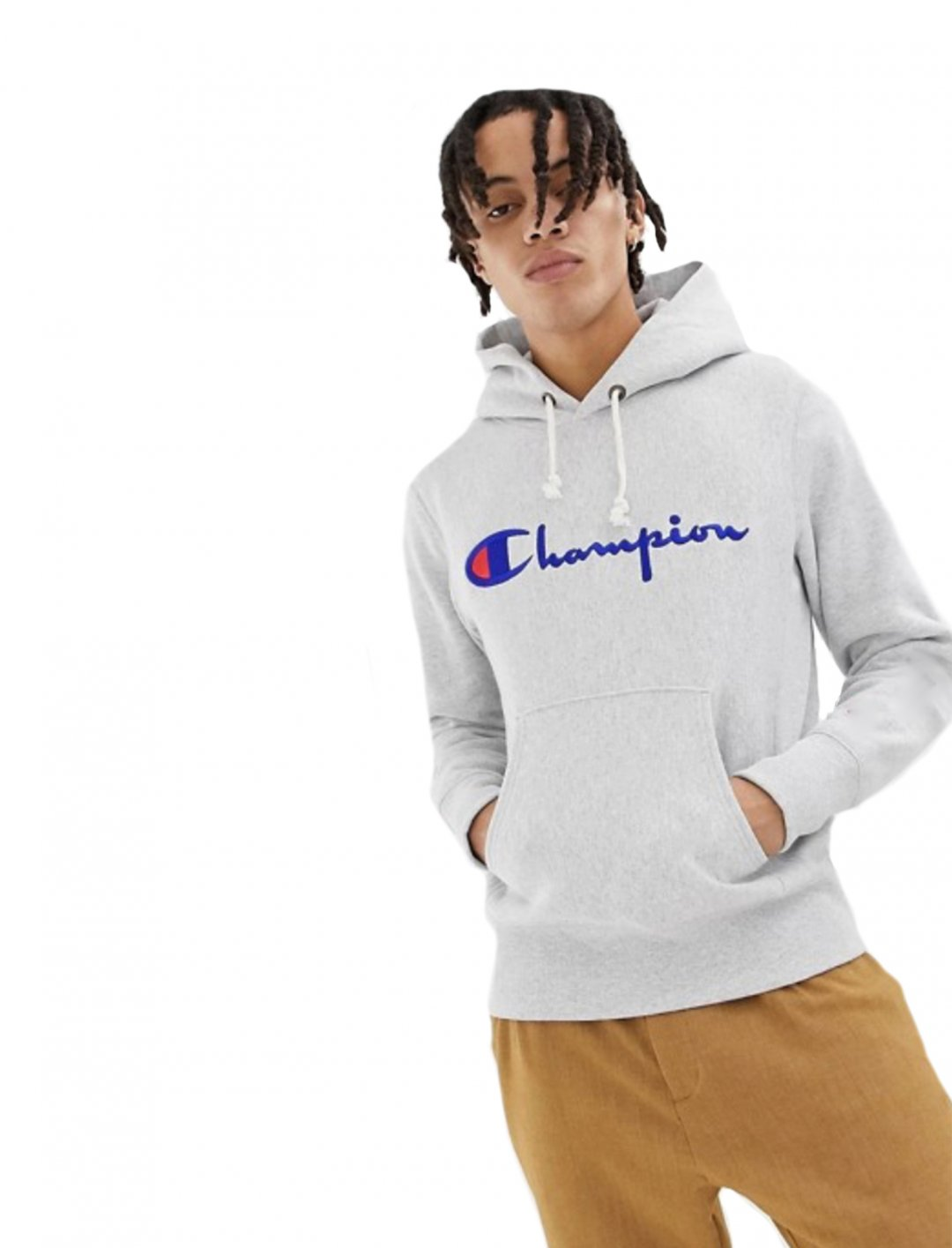 "Hoodie In Grey {""id"":5,""product_section_id"":1,""name"":""Clothing"",""order"":5} Champion"