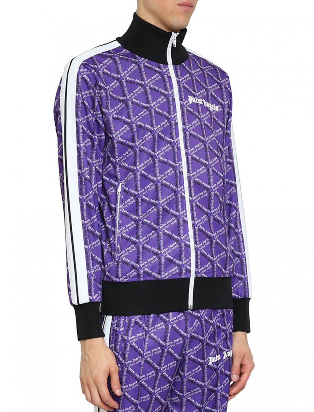 "Track Jacket {""id"":5,""product_section_id"":1,""name"":""Clothing"",""order"":5} Palm Angels"